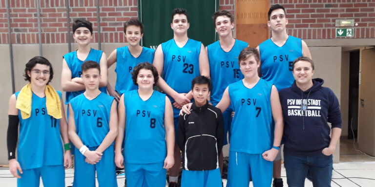 Derbysieg U16 Basketballer