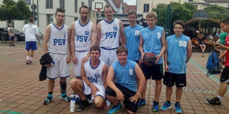 Erfolgreiches Streetballturnier
