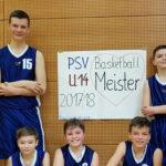 U14 Basketballer sind Meister!