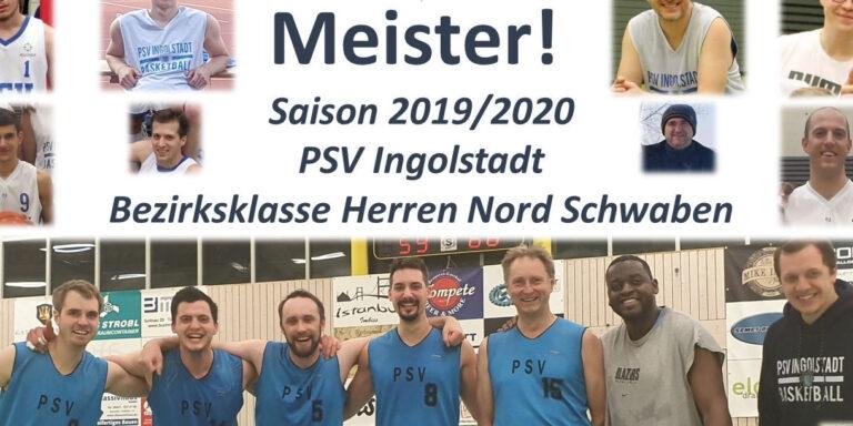 Basketball Herren holen Meisterschaft!