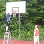 Reparaturen PSV Basketballplatz
